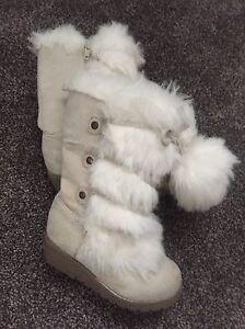 Girls Fur Boots