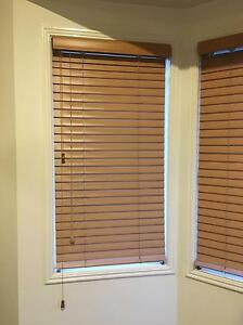 Spotlight Venetian blinds - honey oak colour Warner Pine Rivers Area Preview