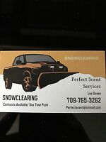 SNOW CLEARING 709-765-3262 Great rates!