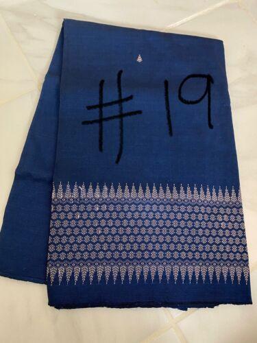 Khmer traditional skirt fabric (Soeng Khmer)