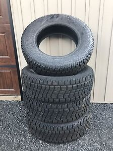 """255/70R/18""""   18 inch winter tires"""