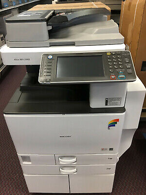 Ricoh Aficio Mp C3502 Color Laser Copier Printer Scanner Multifunction 35 Ppm A3