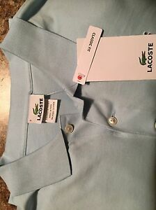 Lacoste Golf Shirt (new with tags)  - size 9