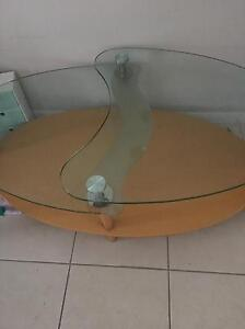Glass coffee table Oonoonba Townsville City Preview