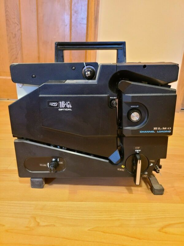 Elmo 16 CL Optical Channel Loading 16mm Projector