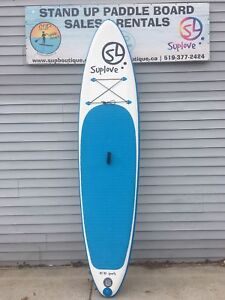 """10'10"""" inflatable stand up paddle board"""