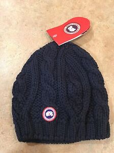 Canada goose hat knit navy