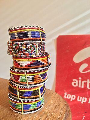 Authentic Masai (Maasai) Jewelry Beaded Bracelet (Kenya)