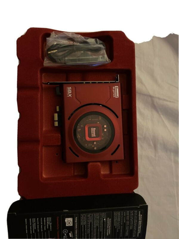 Creative Sound Blaster Z SBX PCIe Gaming Sound Card