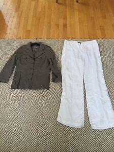Women's designer pants and jackets - great deal!