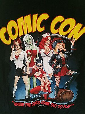 Comic-Con Med Girls Come Out To Play Animation Comics Sexy Ladies Cosplay - Comic Con Kostüm Sexy