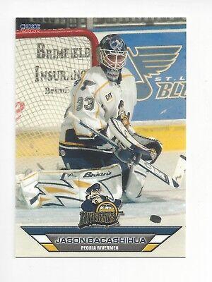 2005-06 Peoria Ruvermen (AHL) Jason Bacashihua (Deggendorfer SC) segunda mano  Embacar hacia Argentina