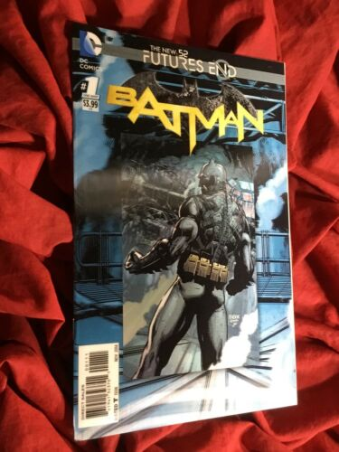 BATMAN FUTURES END #1~LENTICULAR 3-D VARIANT~DC COMICS BOOK~1st PRINT~B