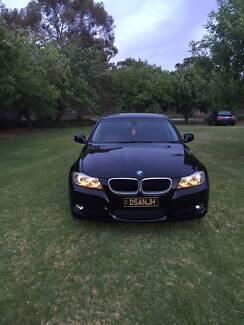 2009 BMW 320i black Sedan Executive
