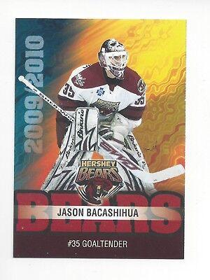 2009-10 Hershey Bears (AHL) Jason Bacashihua (Deggendorfer SC) segunda mano  Embacar hacia Argentina