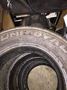 4 Winter tires negociable price West Island Greater Montréal image 2
