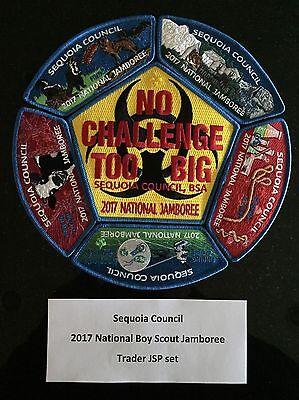 Sequoia Council 2017 National Jamboree Trader Set