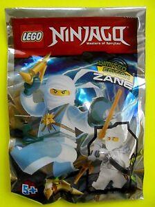 Lego Ninjago Weißer Zane mit Waffen Limited Edition 2015 Polybag Neu Ovp