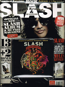 CLASSIC ROCK Presents SLASH - APOCALYPTIC LOVE Limited Ed Pack CD+MAG+POSTER New