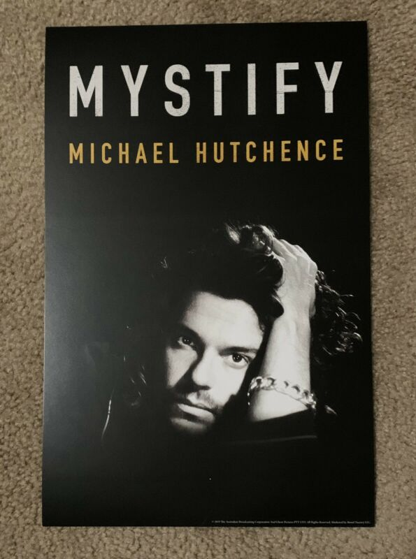NEW Michael Hutchence INXS documentary MYSTIFY  11 x 17 THEATRE ONLY POSTER!!