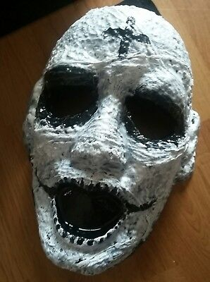 The Purge Anarchy Horror Adult Halloween Mask Costume Creepy Ghoul One of a Kind - Ghoul Mask