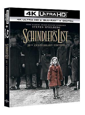 Schindler's List (4K Ultra HD + Blu-ray (25th Anniversary Edition)) [Blu-ray]