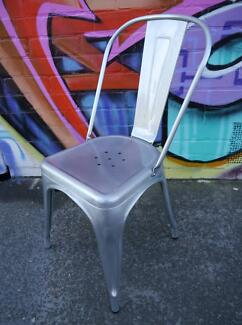 New Replica Thonet Galvanised Metal Tolix Dining Chairs Outdoor