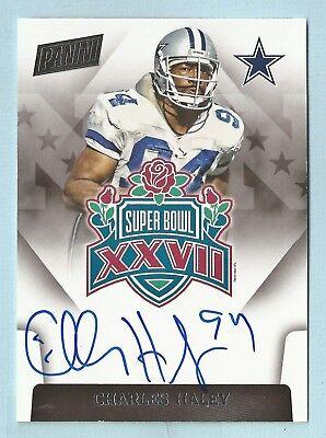 Charles Haley 2015 Panini Super Bowl Signatures Autograph Auto Cowboys