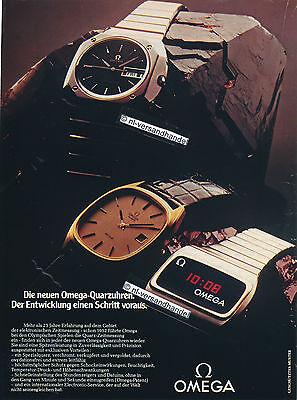 Omega-DeVille-Quarz-1976-Reklame-Werbung-genuine Advertising- nl-Versandhandel