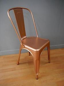 New Copper Replica Thonet Tolix Industrial Metal Dining Chairs Melbourne CBD Melbourne City Preview