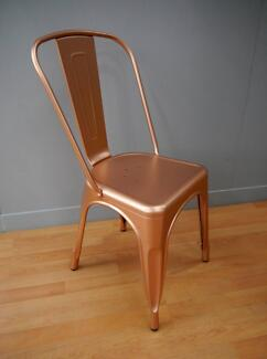 New Copper Replica Thonet Tolix Industrial Metal Dining Chairs