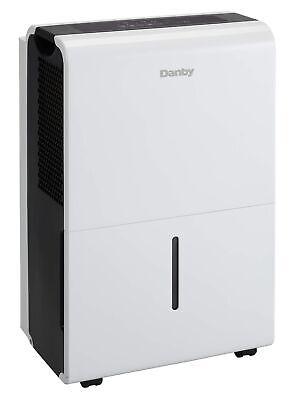 Danby 40 Pint Energy Star 2 Speed Dehumidifier DDR040BFCWDB