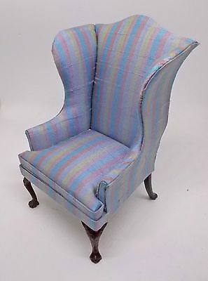 Dolls house Miniature high quality BESPAQ QUEEN ANNE COTTAGE CHAIR (REF2)