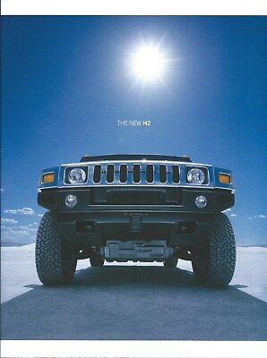 Truck Brochure - Hummer - The New H2 - c2002 (T2392), used for sale  Sointula