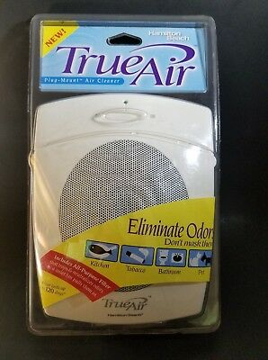 True Air Hamilton Beach Plug Mount Air Cleaner Purifier - Type: AP03