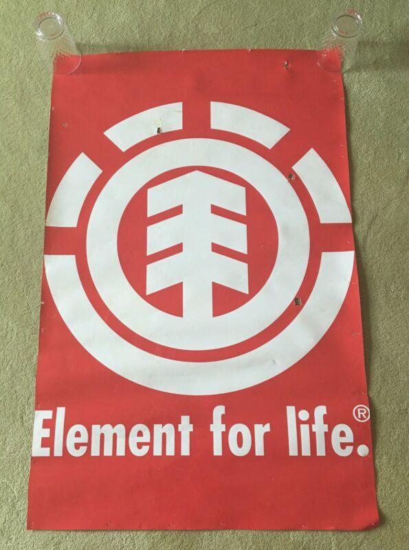 ELEMENT Skateboards Banner Poster