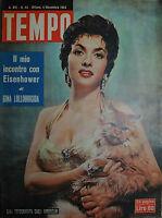 Tempo N°44/ 04.nov.1954 - Gina Lollobrigida Fotografata Dagli Americani -  - ebay.it