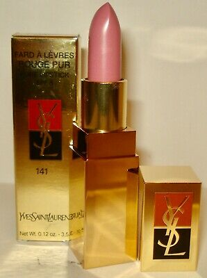 Yves Saint Laurent Fard A Levres RougePur Pure Lipstick SPF 8 - 141 Rose Satin -