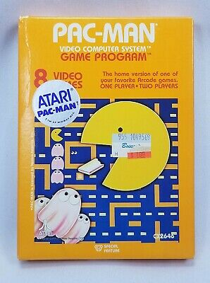 PAC-MAN NEW Unopened 1981  Atari 2600 CX2646