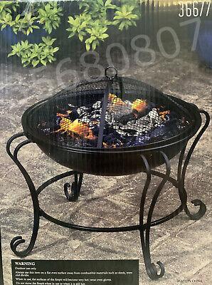 🔥Al Fresco Living Boston Fire Pit Garden Round Patio Heater Ambiance🔥