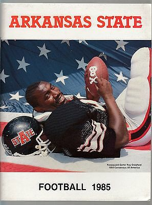 Arkansas State University Football 1985 Team Media Guide ()