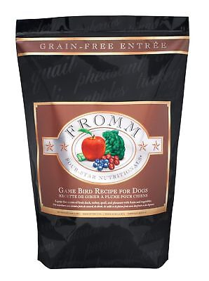 Fromm Four-Star Grain Free Game Bird Recipe Dry Dog Food - 26 lb bag - FREE SHIP