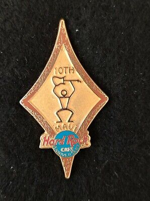 Hard Rock Cafe Maui 10th Anniversary Pin, usado segunda mano  Embacar hacia Mexico