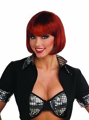 Forum Neuheiten Schick Bob Natürlich Rot Haar Perücke Halloween