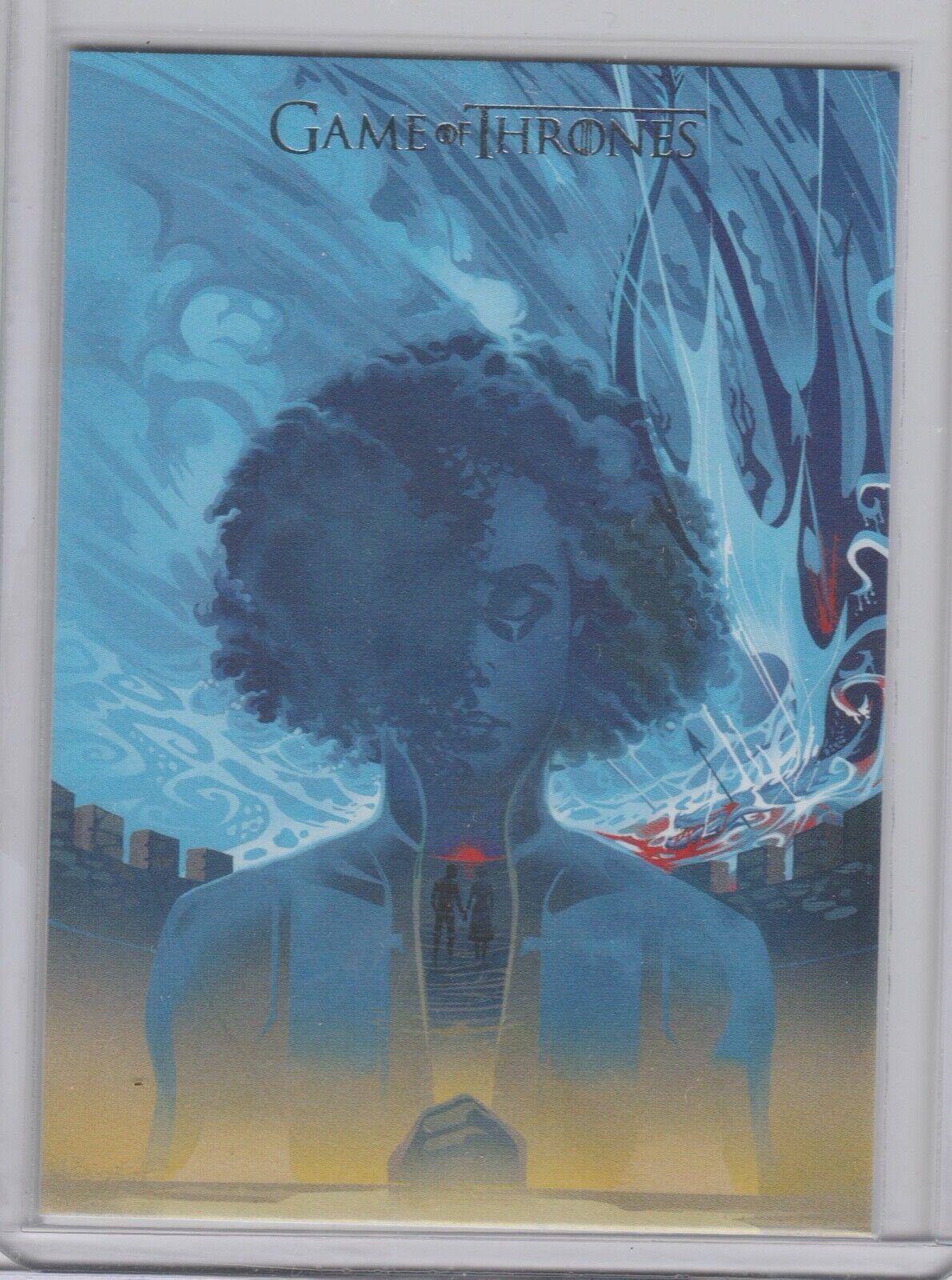 2020 Game Of Thrones Season 8 Beautiful Death Poster Art BD71 -- Rare 1 72 Packs - $2.99