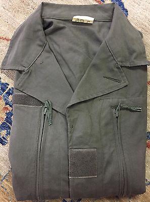 Veste militaire franÇaise kaki taille 96c vintage chasse années 80