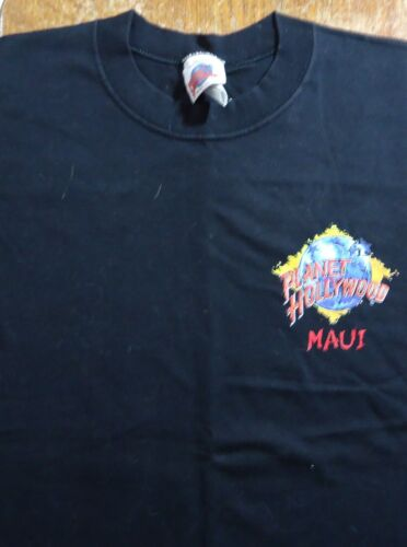Vintage Planet Hollywood Maui Hawaii T Shirt (Medium)
