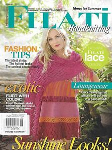 Filati magazine Sunshine looks Fashion tips Lace Exotic color Loungewear ideas