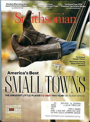 Smithsonian Magazine April 2014 America's Best Small Towns EX (Smithsonian Best Small Towns)