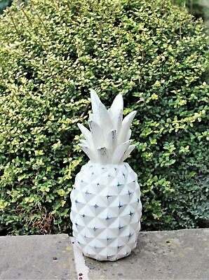 Garden Ornament Pineapple Finials Decorative Stone Outdoor Indoor Gift Set Indoor Garden Gift Set